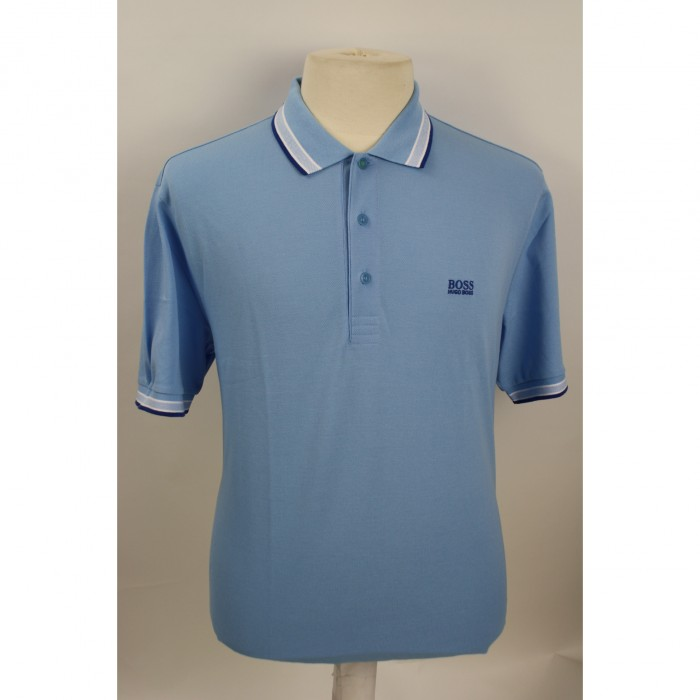 Hugo Boss Polo Korte mouw Baddy Open Blue