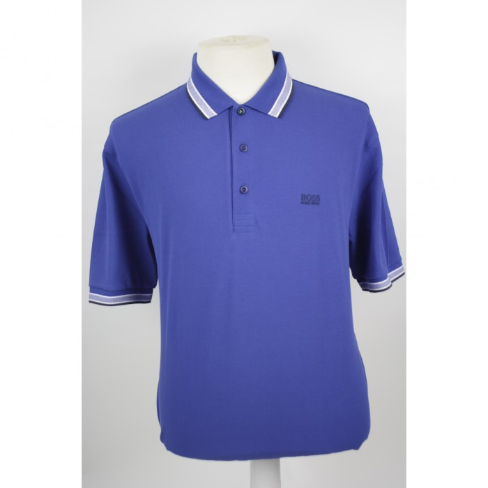 Hugo Boss polo Paddy Open blue 2656