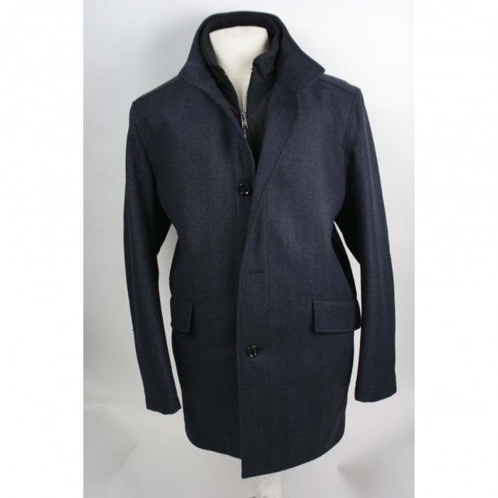 Hugo Boss  wollen jack Coxtan 6 Dark blue