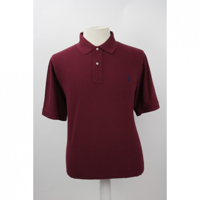 Ralph Lauren polo korte mouw Classic Wine red