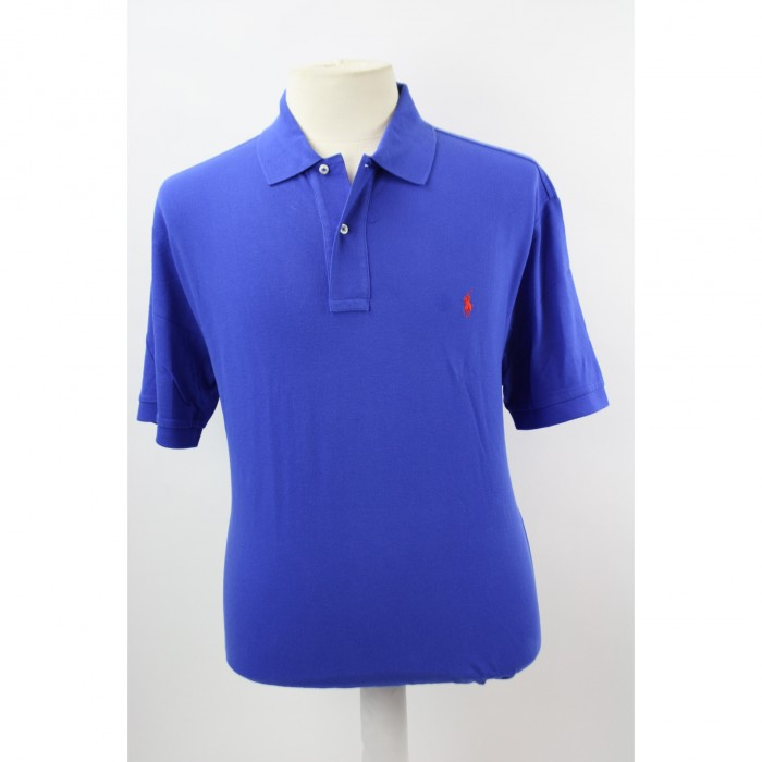 Ralph Lauren pique polo New iris blue 2798
