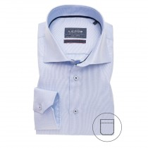 Ledub lichtblauw dress shirt ML7 3220