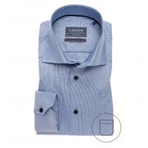 Ledub middenblauw dress shirt ML7 3221