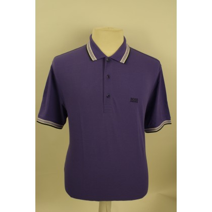 Hugo Boss Polo Korte mouw Baddy Dark Purple