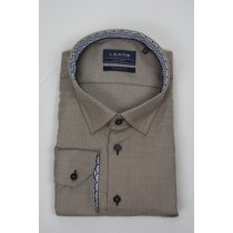 Le Dub special fit light brown oxford shirt 2885
