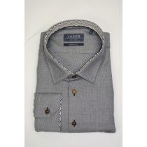 Le Dub special fit blue/grey oxford shirt 2886