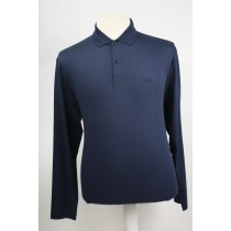 Hugo Boss Polo lange mouw navy