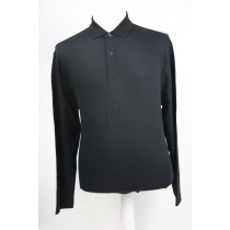 Hugo Boss Polo lange mouw Black