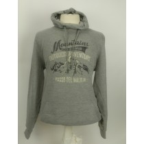 Kitaro hooded sweat flanell grey 2933