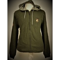 Kitaro hoody vest olive night