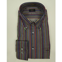 Paul&Shark organic cotton stripe shirt 3302