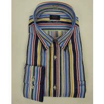 Paul&Shark organic cotton stripe shirt 3303