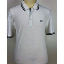 Hugo Boss witte luxe polo paddy 3414