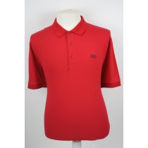 Hugo Boss helder rode polo Piro 2662