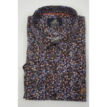 Culture print Shirt lange mouw Regular Fit