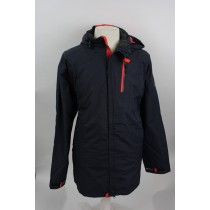 Brigg  fietsjack multi navy/orange