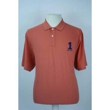 Hackett of London polo korte mouw soft orange